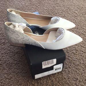 White shoes NWT